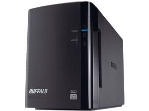 BUFFALO DriveStation Duo 8TB (2 x 4 TB) USB 3.0 High Performance RAID Array with Optimized Hard Drives HD-WH8TU3R1 Black