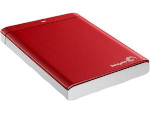 "Seagate Backup Plus 1TB USB 3.0 2.5"" External Hard Drive Red"
