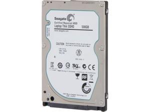 """Seagate ST500LM000 500GB 5400 RPM 64MB Cache SATA 6.0Gb/s 2.5"""" Laptop Thin SSHD Bare Drive"""