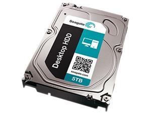 "Seagate ST5000DM000 5TB 128MB Cache SATA 6.0Gb/s 3.5"" Internal Hard Drive"