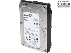 Seagate NAS Rescue HDD ST4000VN003 4TB 64MB Cache SATA 6.0Gb/s Internal Hard Drive