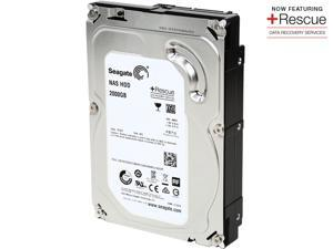 Seagate NAS Rescue HDD ST2000VN001 2TB 64MB Cache SATA 6.0Gb/s Internal Hard Drive
