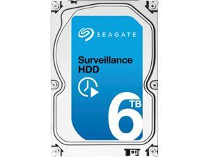 Seagate Surveillance HDD ST6000VX0001 6TB 128MB Cache SATA 6.0Gb/s Internal Hard Drive