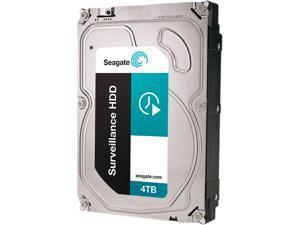 Seagate Surveillance HDD ST4000VX002 4TB 64MB Cache SATA 6.0Gb/s Internal Hard Drive (3-year +Rescue Data Recovery Service ...