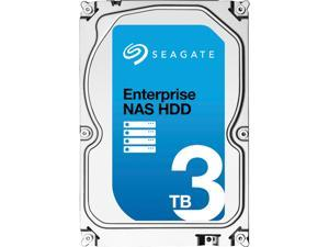 "Seagate Enterprise NAS ST3000VN0001 3TB 7200 RPM 128MB Cache SATA 6.0Gb/s 3.5"" Internal Hard Drive Bare Drive"
