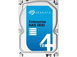 "Seagate Enterprise NAS ST4000VN0001 4TB 7200 RPM 128MB Cache SATA 6.0Gb/s 3.5"" Internal Hard Drive Bare Drive"