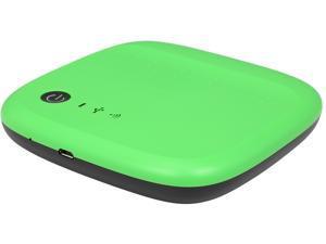 Seagate 500GB Wireless Mobile External Hard Drive STDC500401 Green