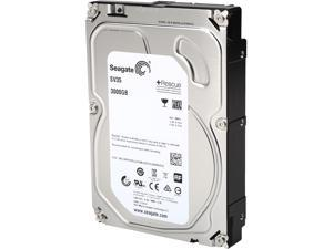 "Seagate SV35 Series ST3000VX004 3TB 64MB Cache SATA 6.0Gb/s 3.5"" Internal Hard Drive + Rescue Data Recovery Services"