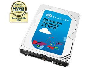 Seagate 2TB Enterprise Capacity 2.5 Internal Hard Disk Drive SAS 12Gb/s 7200 RPM 128MB Cache Model ST2000NX0343