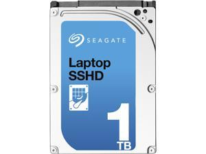 "Seagate 1TB Laptop Solid State Hybrid Hard Disk Drive with Self-Encryption (SED) - 5400 RPM SATA 6.0Gb/s 2.5"" Model# ST1000LM015"