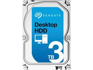 "Seagate Desktop HDD ST3000DM002 3TB 64MB Cache SATA 6.0Gb/s 3.5"" Internal Hard Drive Bare Drive"