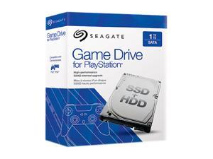 "Seagate Game Drive for PlayStation STBD1000101 1TB SATA 6.0Gb/s 2.5"" Laptop SSHD Retail Kit"