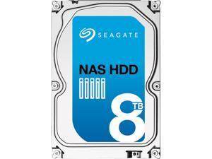 "Seagate NAS HDD ST8000VN0002 8TB 256MB Cache SATA 6.0Gb/s 3.5"" Internal Hard Drive"