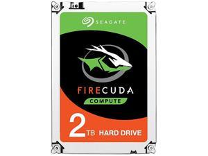 "Seagate FireCuda Gaming SSHD 2TB 7200 RPM 64MB Cache SATA 6.0Gb/s 3.5"" Internal Hard Drive ST2000DX002"