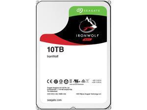 "Seagate IronWolf ST10000VN0004 10TB 256MB Cache SATA 6.0Gb/s 3.5"" Hard Drive Bare Drive"