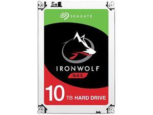 "Seagate IronWolf 10TB NAS Hard Drive 7200 RPM 256MB Cache SATA 6.0Gb/s 3.5"" Internal Hard Drive ST10000VN0004"