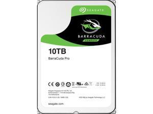 """Seagate BarraCuda Pro ST10000DM0004 10TB 7200 RPM 256MB Cache SATA 6.0Gb/s 3.5"""" Hard Drive Bare Drive"""