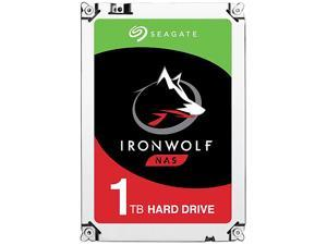 "Seagate IronWolf 1TB NAS Hard Drive 5900 RPM 64MB Cache SATA 6.0Gb/s 3.5"" Internal Hard Drive ST1000VN002"