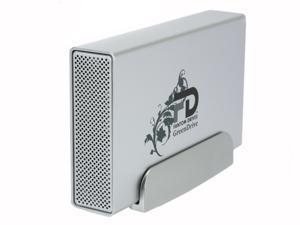 """Fantom Drives GreenDrive Quad Interface 1TB USB 2.0 / eSATA / Firewire 400/800 3.5"""" External Hard Drive w/NTI SHADOW 4 Backup ..."""