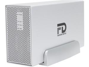 "Fantom Drives Gforce3 MegaDisk 4TB USB 3.0/2.0 2x 3.5"" Dual Drive RAID 0, 1, SPAN, JBOD"