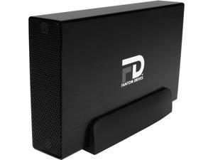 Fantom Drives G-Force3 Pro 1TB USB 3.0 Aluminum Desktop External Hard Drive GF3B1000UP Black