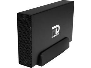 Fantom Drives Professional 1TB USB 3.0 / eSATA Aluminum Desktop External Hard Drive GFP1000EU3 Black