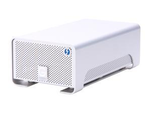 G-Technology G-RAID with Thunderbolt 0G02272 8TB Silver Professional Portable Dual-Drive Storage System