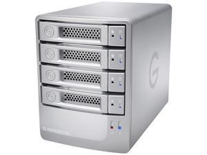 G-Technology G-SPEED Q 16TB USB 3.0 / 2 x Firewire800 / eSATA G-Speed Q 4-Bay Storage Array 0G02840 Silver
