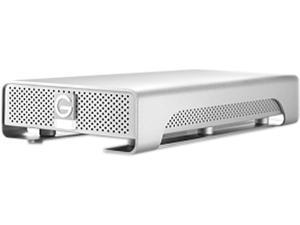 G-Technology G-Drive(Gen 6) 2 TB 7200 RPM Professional High-Performance External Hard Drive eSATA/ USB 3.0/ Firewire800 Silver (0G02919)