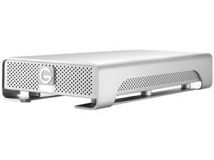 G-Technology G-Drive(Gen 6) 3 TB 7200 RPM Professional High-Performance EXternal Hard Drive eSATA/ USB 3.0/ Firewire800 Silver (0G02923)