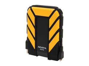 ADATA 1TB HD710 Waterproof / Dustproof / Shock-Resistant USB 3.0 External Hard Drive USB 3.0 Model AHD710-1TU3-CYL Yellow
