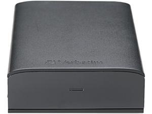 "Verbatim Store n Save 2TB USB 3.0 3.5"" Desktop Hard Drive 97580 Black"