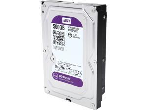 WD Purple 500GB Surveillance Hard Disk Drive - 5400 RPM Class SATA 6Gb/s 64MB Cache 3.5 Inch - WD05PURX