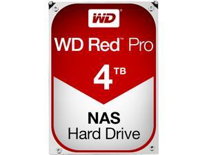 WD Red Pro 4TB NAS Hard Disk Drive - 7200 RPM Class SATA 6Gb/s 128MB Cache 3.5 Inch - WD4002FFWX