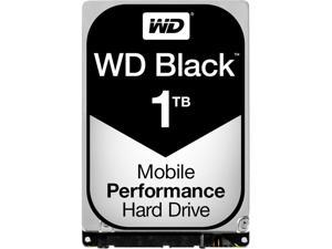 WD Black 1TB Performance Mobile Hard Disk Drive - 7200 RPM SATA 6Gb/s 32MB Cache 2.5 Inch - WD10JPLX