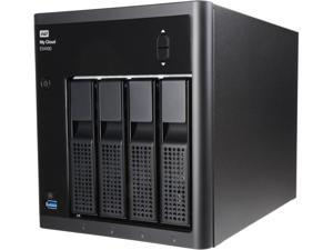 WD My Cloud Expert Series EX4100 32TB (4 x 8TB) 4-Bay NAS WDBWZE0320KBK-NESN Black