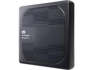 WD 2TB My Passport Wireless Pro Portable External Hard Drive - WiFi AC, SD, USB 3.0 - WDBP2P0020BBK-NESN