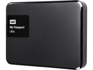 WD 4TB Black My Passport Ultra Portable External Hard Drive - USB 3.0 - WDBBKD0040BBK-NESN