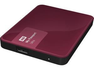 WD 4TB Berry My Passport Ultra Portable External Hard Drive - USB 3.0 - WDBBKD0040BBY-NESN