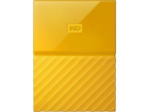 WD 3TB My Passport Portable Hard Drive USB 3.0 Model WDBYFT0030BYL-WESN Yellow