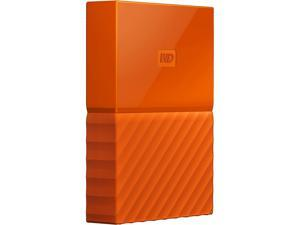 WD 2TB My Passport Portable Hard Drive USB 3.0 Model WDBYFT0020BOR-WESN Orange