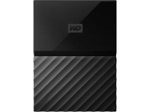 WD 1TB My Passport Portable Hard Drive USB 3.0 Model WDBYNN0010BBK-WESN Black