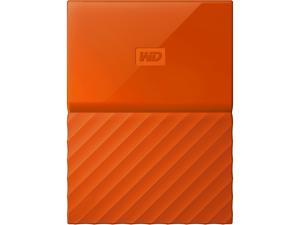 WD 1TB My Passport Portable Hard Drive USB 3.0 Model WDBYNN0010BOR-WESN Orange
