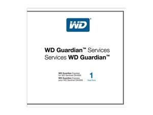 WD WDBBBT0000NNC-NASN Guardian Express 1 Year Plan For WD Sentinel DX4000