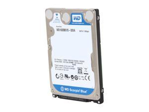 "WD Scorpio Blue WD1600BEVS 160GB 5400 RPM 8MB Cache SATA 1.5Gb/s 2.5"" Internal Notebook Hard Drive Bare Drive"