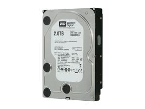 "WD WD Green WD20EARX 2TB 64MB Cache SATA 6.0Gb/s 3.5"" Internal Hard Drive -Manufacture Recertified Bare Drive"