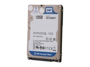"""WD Scorpio Blue WD1200BEVT 120GB 5400 RPM 8MB Cache SATA 3.0Gb/s 2.5"""" Notebook Hard Drive Bare Drive"""