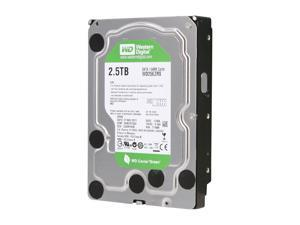 "WD WD25EZRS 2.5TB SATA 3.0Gb/s 3.5"" Internal Hard Drive Bare Drive"