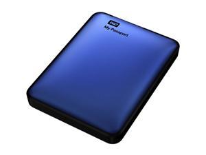 Western Digital My Passport 750GB USB 3.0 Portable Hard Drive (Blue)