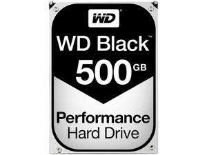 WD Black 500GB Performance Desktop Hard Disk Drive - 7200 RPM SATA 6Gb/s 64MB Cache 3.5 Inch - WD5003AZEX